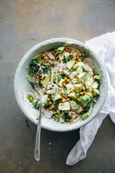 laura wright salad bowl